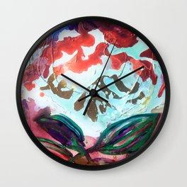 For purple mountain majesties Wall Clock