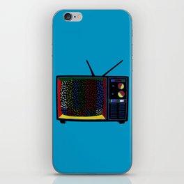 Colorful Sprinkle TV Testing Pattern iPhone Skin
