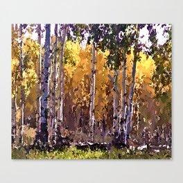 Kebler Pass Canvas Print