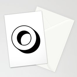 Letter O ... As Easy As ... Stationery Cards