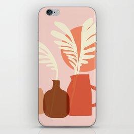 Abstraction_SUN_PLANT_POT_Minimalism_001 iPhone Skin