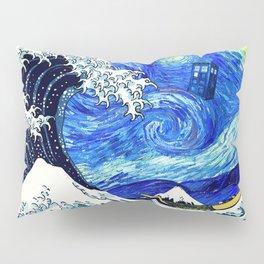 Tardis Flying Pillow Sham