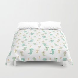 Evolution of a Chicken Pattern Duvet Cover