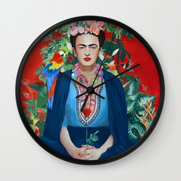 Saint Frida Wall Clock