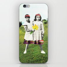walk together iPhone & iPod Skin