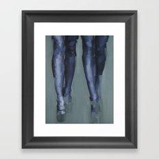 Synchrony Framed Art Print