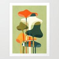 Little mushroom Art Print