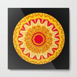Mandala HW Metal Print