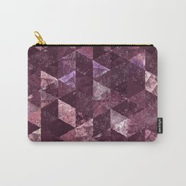 Abstract Geometric Background #24 Carry-All Pouch
