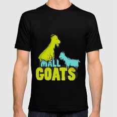 Mall Goats Mens Fitted Tee Black MEDIUM