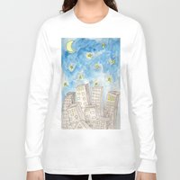 starry night Long Sleeve T-shirts featuring Starry night by Susan