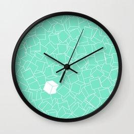 Qubi - Lots of Cubes Wall Clock