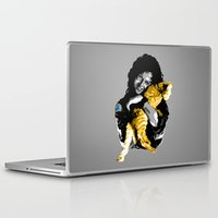 ripley Laptop & iPad Skins featuring Officer Ripley by mirodeniro