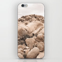 California Joshua Tree National Park Rock Formations iPhone Skin