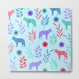 Forest Animal and Nature Metal Print