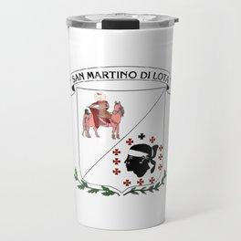bandiera di San martinu di lota Travel Mug