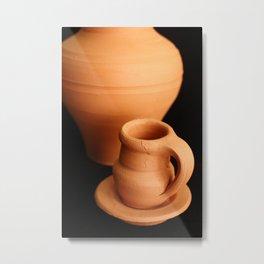 Small pottery items Metal Print