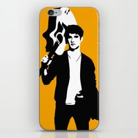 darren criss iPhone & iPod Skins featuring Darren Criss with guitar! by byebyesally