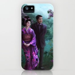 Sakura Garden iPhone Case