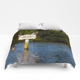 Manatee Zone Comforters