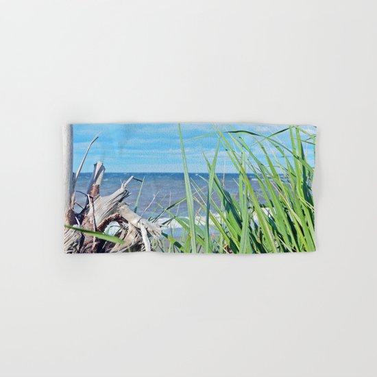 Through Grass and Driftwood Hand & Bath Towel