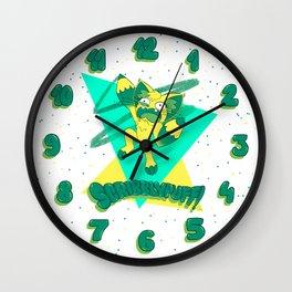 Scribblypuff! Wall Clock