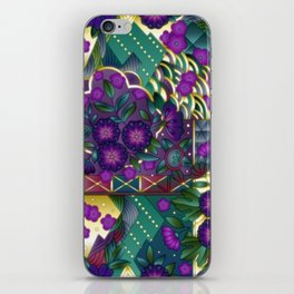 Abstract Quilt Pattern iPhone Skin
