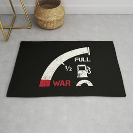 Mile away from war Rug