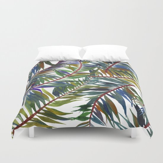 tropical life  Duvet Cover