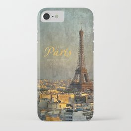 I love Paris iPhone Case