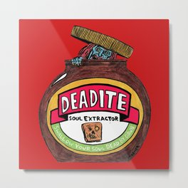 Deadite: The Evil Spread (Cap Off Version) Metal Print