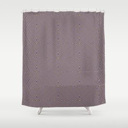 Pure Insanity (Pattern) Shower Curtain