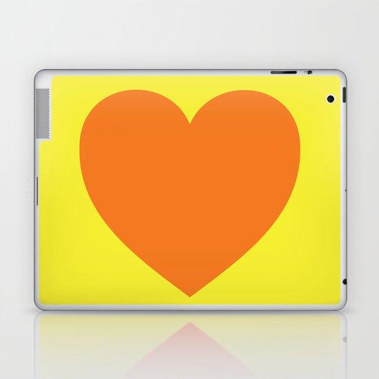 Pop Art Heart Laptop & iPad Skin