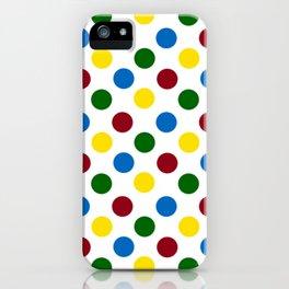 School Days Polka Dots iPhone Case