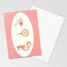 Magical Girls Take No Shit Stationery Cards