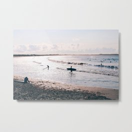 Surferas End Metal Print