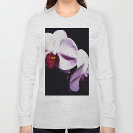 Purple Orchids Long Sleeve T-shirt
