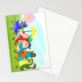 May Day Parade Stationery Cards