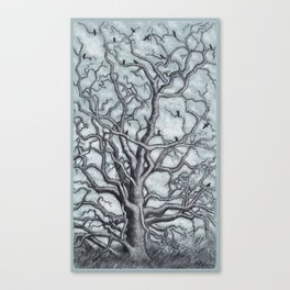 The Dead Tree Canvas Print