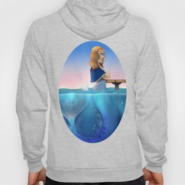 Silver Mermaid Hoody