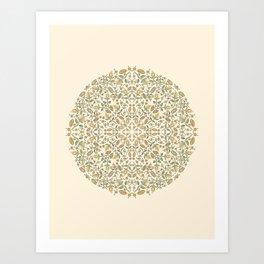 Sunshine Floral Art Print