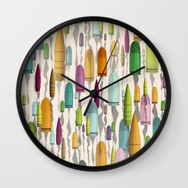 Pum Pum Pum! Wall Clock