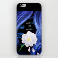 looking for alaska iPhone & iPod Skins featuring Looking For Alaska  by Lunah