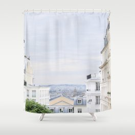 Urban landscape from Paris Shower Curtain