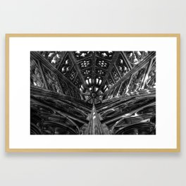 Within the Tower Framed Art Print