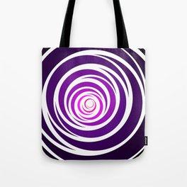 Spinnin Round Purple Tote Bag