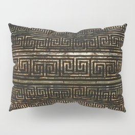 Wooden Greek Meander Pattern - Greek Key Ornament Pillow Sham