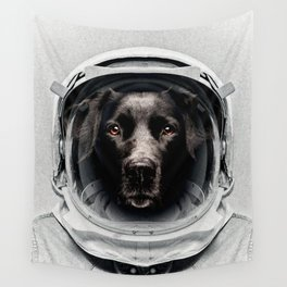 Pluto Astro Dog Wall Tapestry