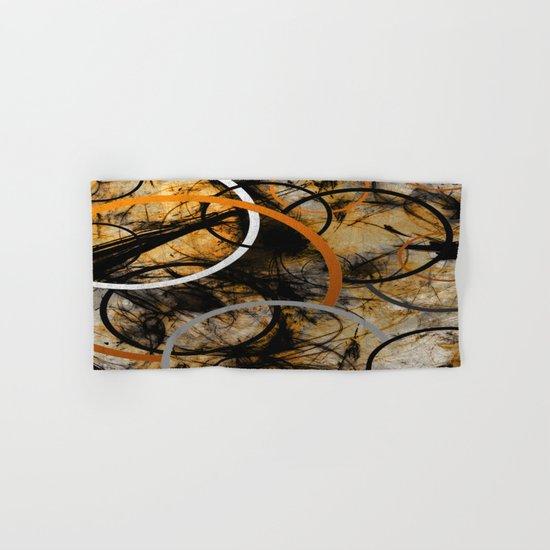 Rustic Hypnosis Hand & Bath Towel