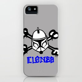 Clones Brigade iPhone Case